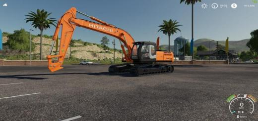 Photo of FS19 – My Edit Of The Hitachi Zx290Lc V2