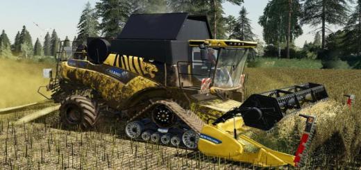 Photo of FS19 – New Holland Cr 6.90 Harvester V1