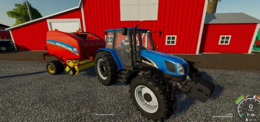 Photo of FS19 – New Holland Tl-A And T5000 Pack V1