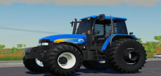 Photo of FS19 – New Holland Tm 7020 Tractor V1