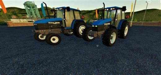 Photo of FS19 – New Holland Ts Series U.s. V3