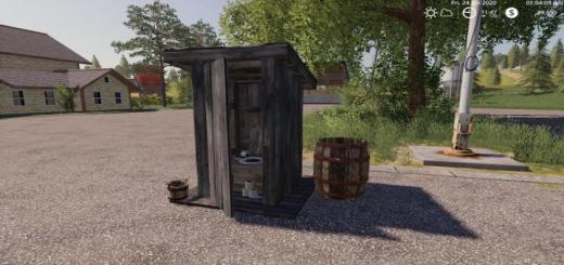 Photo of FS19 – Outhouse With Sleep Trigger V1