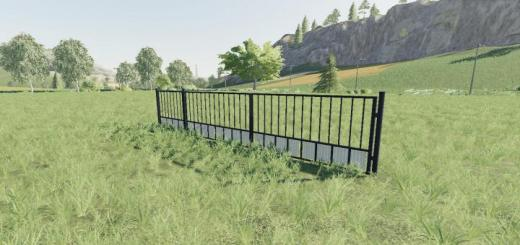 Photo of FS19 – Placeable Black Gate V1