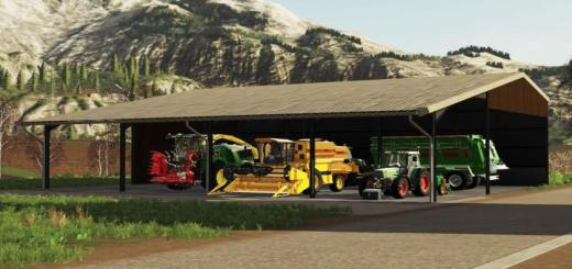 Photo of FS19 – Placeable Storage Building V1