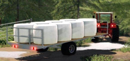 Photo of FS19 – Plateau Artisanal Trailer V1