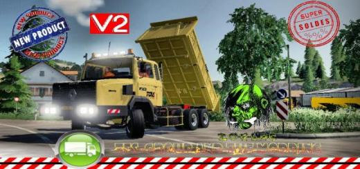 Photo of FS19 – Renault C280 6X4 Benne Tp V2