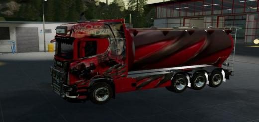 Photo of FS19 – Scania Bulk And Trailer V1