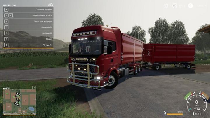 FS19 - Scania R730 Hkl Truck V1.0.0.7