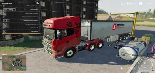 Photo of FS19 – Scania R730 Semi 3 Axle Truck V1.0.0.2