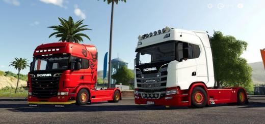 Photo of FS19 – Scania S580 Custom (Original Version) V1