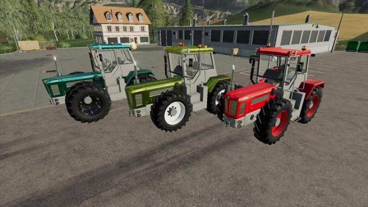 FS19 - Schluter 2500 Vl Tractor V1