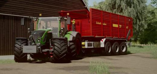 Photo of FS19 – Schuitemaker Siwa 240 Hooklift Silage Container V1