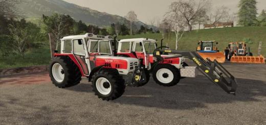 Photo of FS19 – Steyr 8075 Rs2 Basic Tractor V1.4