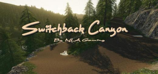 Photo of FS19 – Switchback Canyon Map V1