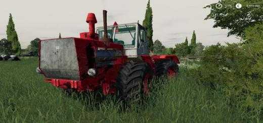 Photo of FS19 – T-150K Tractor V1.1