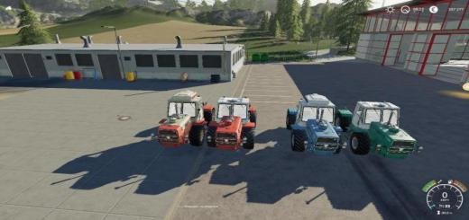 Photo of FS19 – T-150K Tractor V1