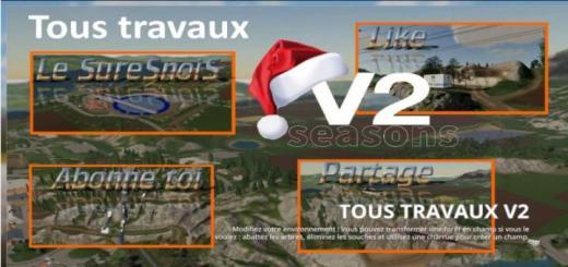 Photo of FS19 – Tous Travaux Map V2