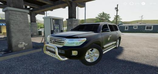Photo of FS19 –  Toyota Land Cruiser 200 2013 V8 V1