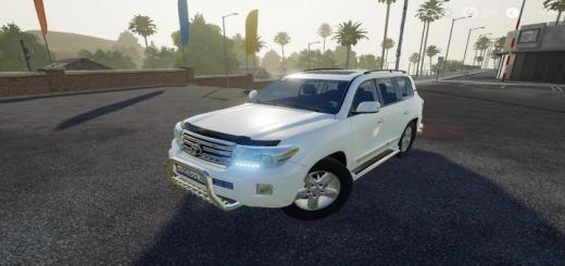 Photo of FS19 – Toyota Land Cruiser 200 2013 V8 V2