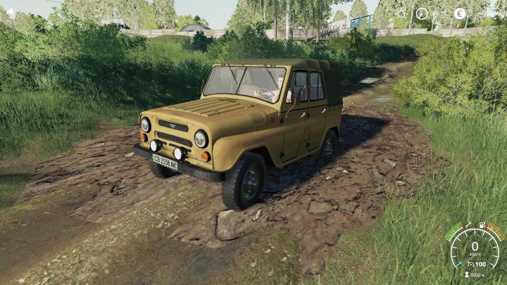 FS19 - Uaz 469 V2