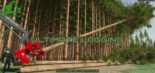 Photo of FS19 – Ultimate Logging Map V1.1.1