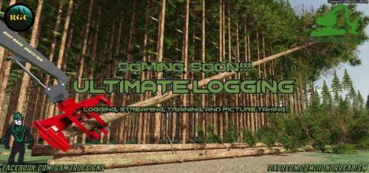 Photo of FS19 – Ultimate Logging Map V1