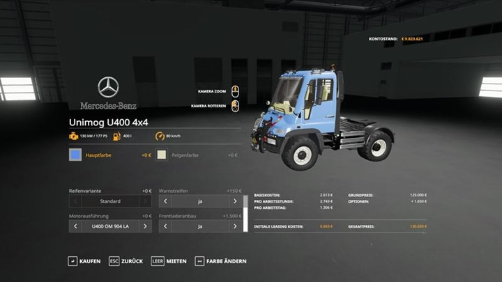 Photo of FS19 – Unimog U400 V1.0.0.1