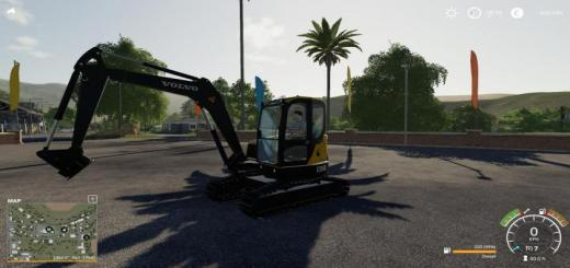 Photo of FS19 – Volvo Ecr580 Mini V1.1