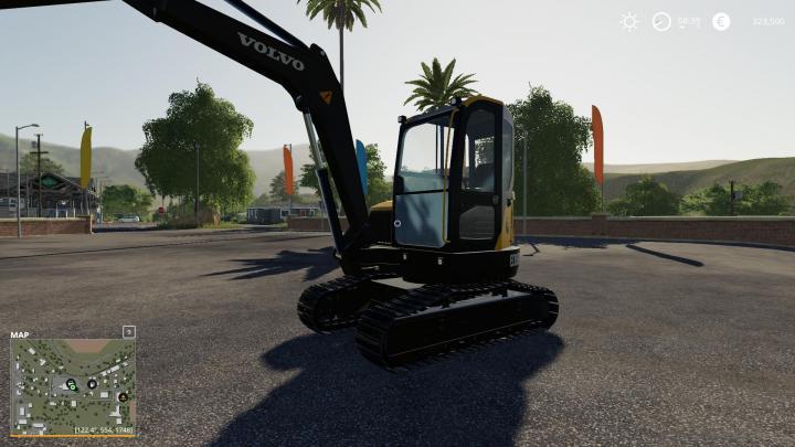 FS19 - Volvo Mini Excavator V1