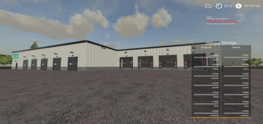 Photo of FS19 – Warehouse Drystorage V1.9