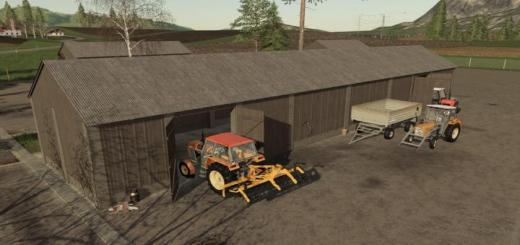 Photo of FS19 – Wooden Sheds V1