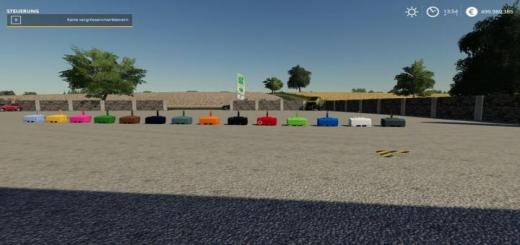 Photo of FS19 – Xxl Weights Pack V2
