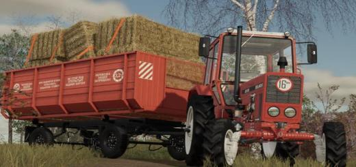 Photo of FS19 – 2Pts-4 Trailer V1.0.0.1