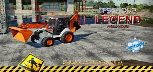 Photo of FS19 – Backhoe Loader 420F2 Polimix V1.5
