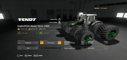 Photo of FS19 – Beast Vario 1000 V1