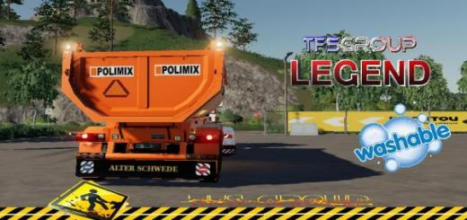 Photo of FS19 – Benne Tp Polimix V1.5