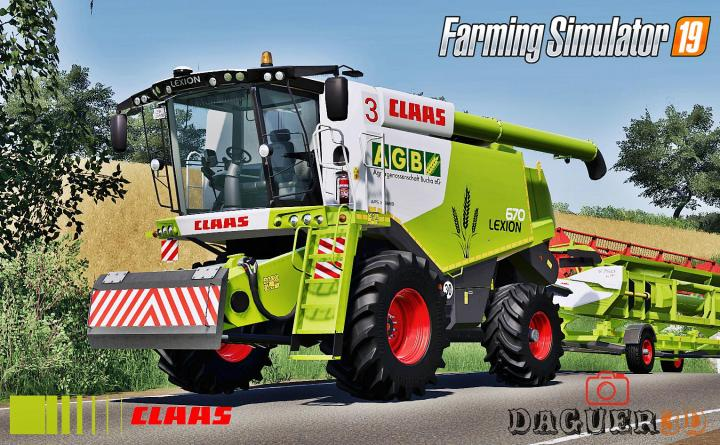 FS19 - Claas Lexion 600 Series (Old Generation) V2