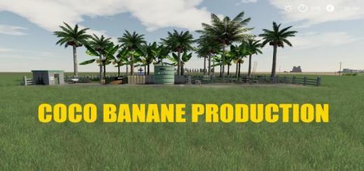 Photo of FS19 – Coco Banane Production V1