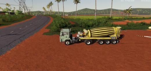 Photo of FS19 – Concrete Mixer V0.1