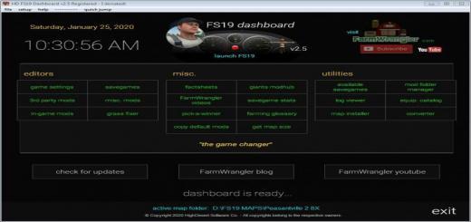 Photo of FS19 – Dashboard V2.6