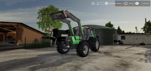 Photo of FS19 – Deutz-Agrostar 6.61 Tractor V1