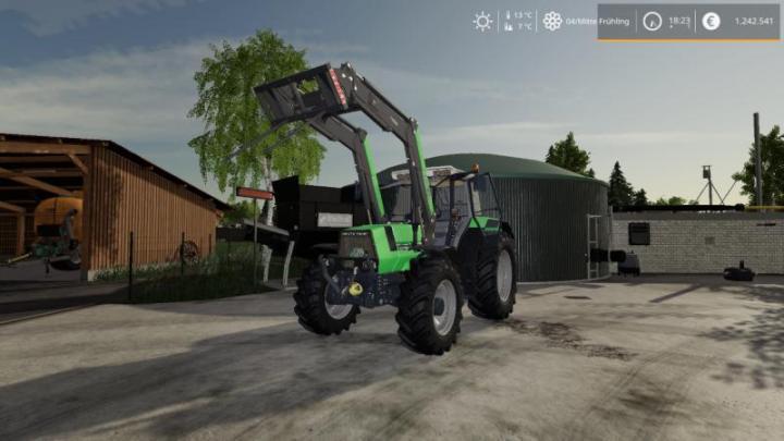 FS19 - Deutz-Agrostar 6.61 Tractor V1