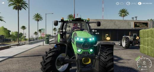 Photo of FS19 – Deutz-Fahr 6Ttv Tractor V1