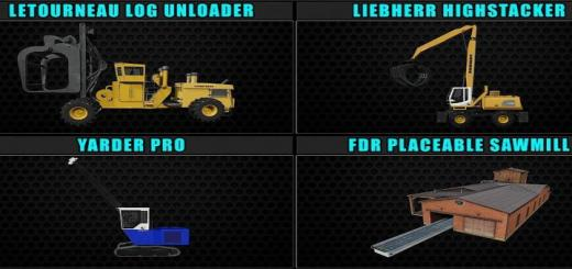 Photo of FS19 – Fdr Logging Mods Pack Jan/31/2020 V1