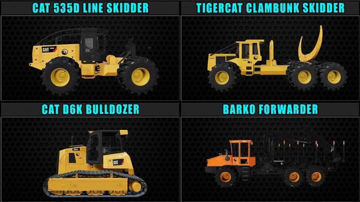FS19 - Fdr Logging Mods Pack V1