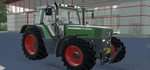 Photo of FS19 – Fendt 500 Favorit Mit Forstkafig V1