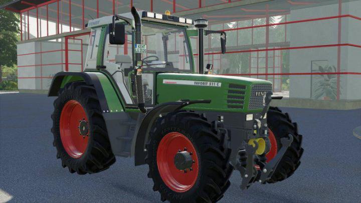 FS19 - Fendt 500 Favorit Mit Forstkafig V1