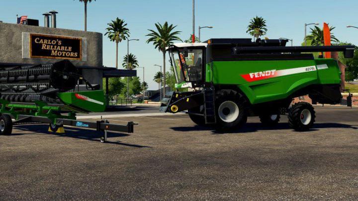 FS19 - Fendt 6275L Harvester V1