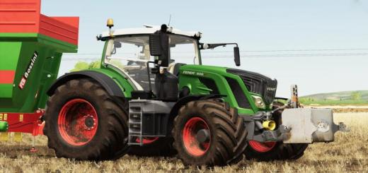 Photo of FS19 – Fendt 800 S4 Tractor V1