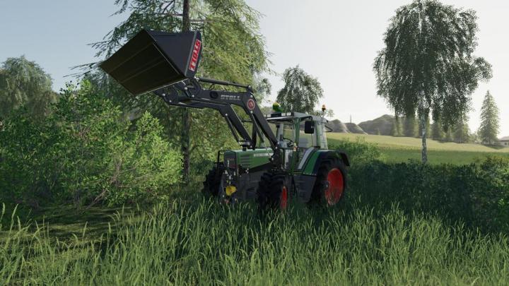 FS19 - Fendt Favorit 509 510 Tractor V5